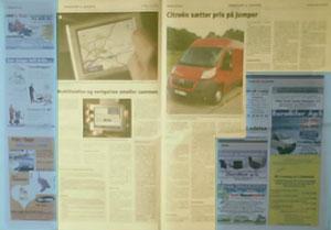 PR og annoncer i en erhvervs-avis