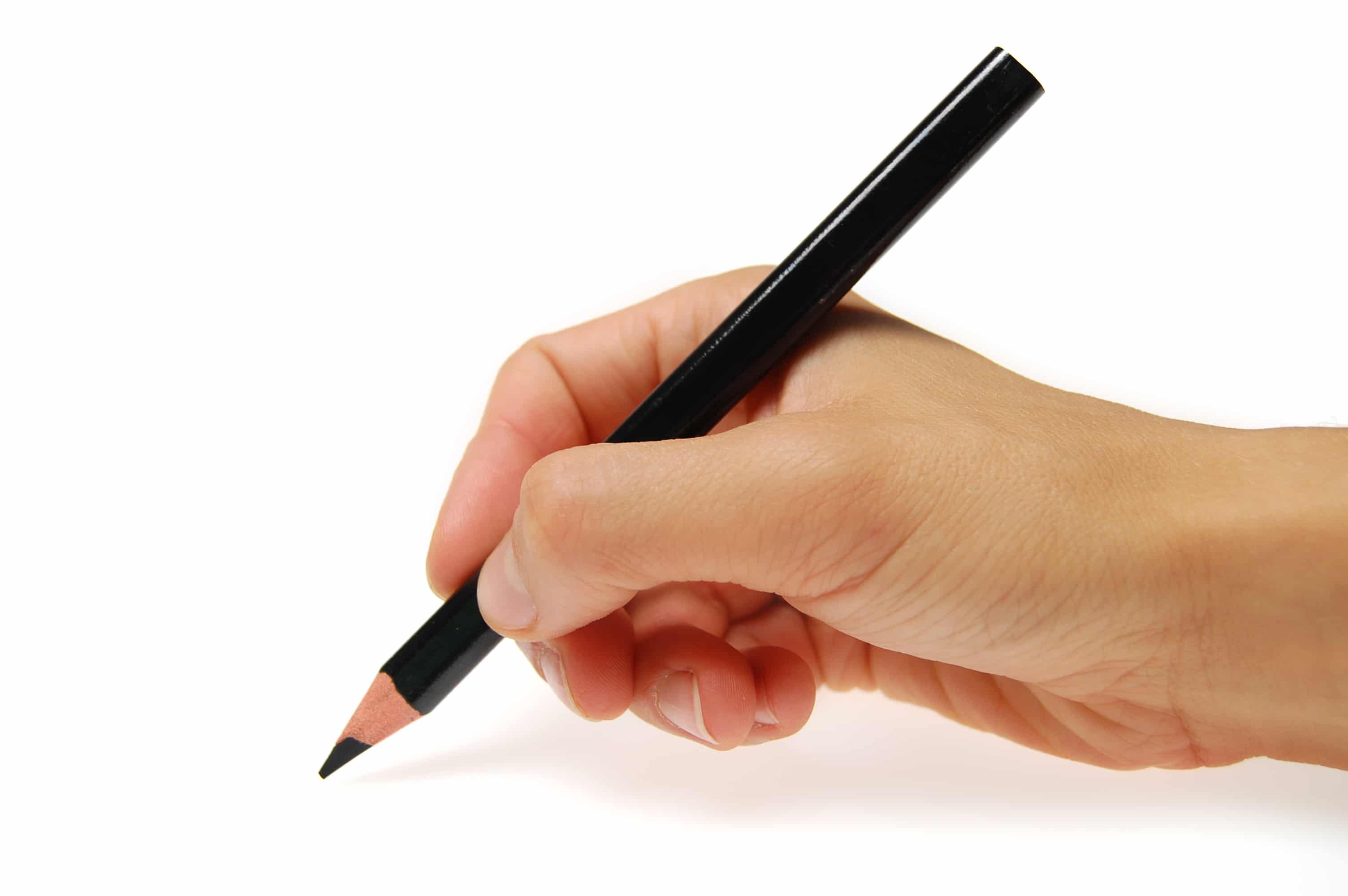 En tekstforfatter arbejder med at planlæggge, skrive og redigere tekst